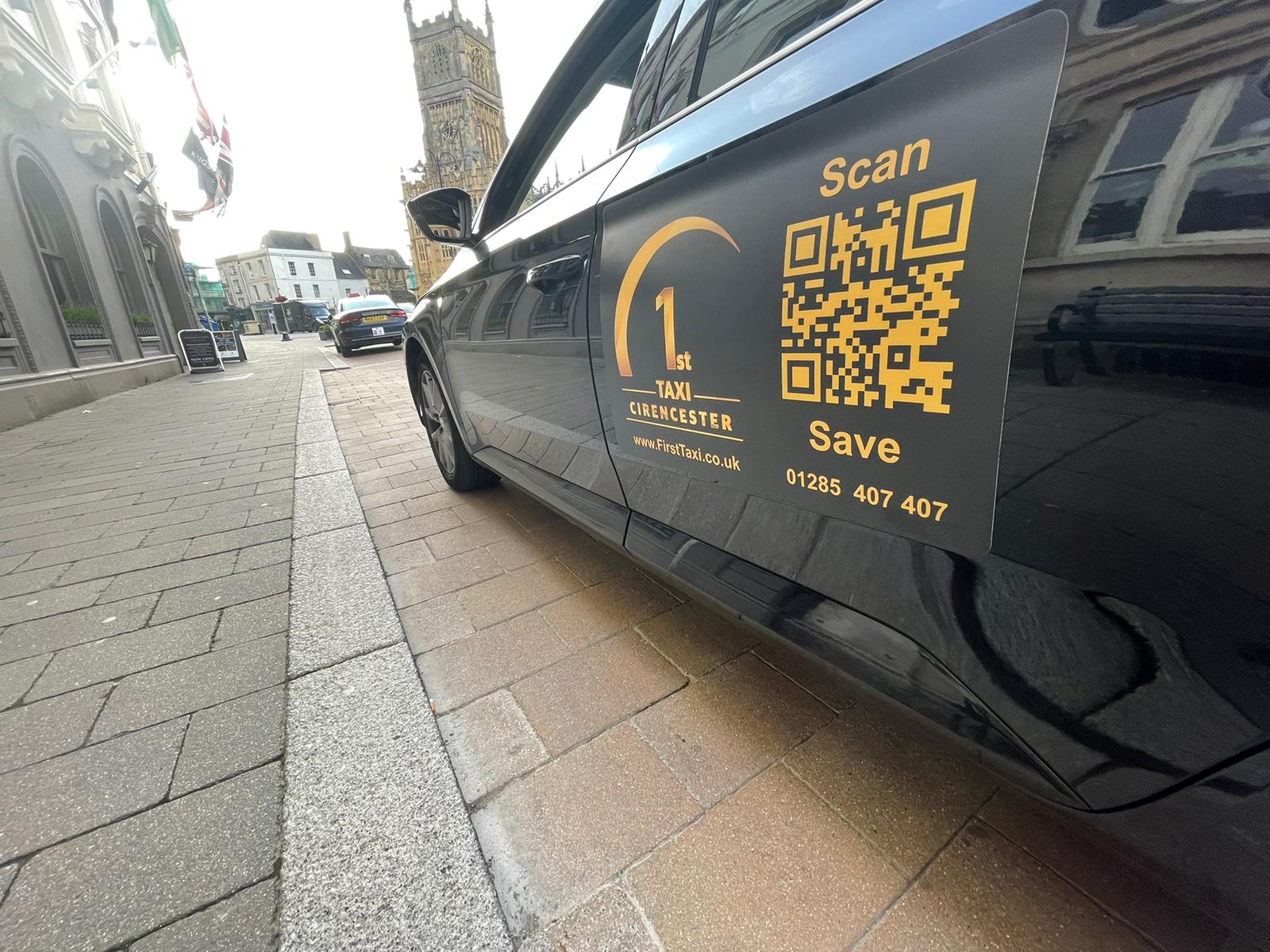 Taxi in Cirencester